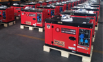 Our new diesel generator set are mass production and exported